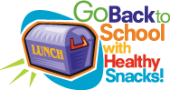 Go back to school with healthy snacks