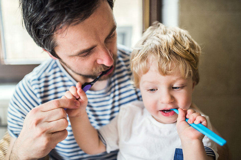 Healthy dental habits in kids