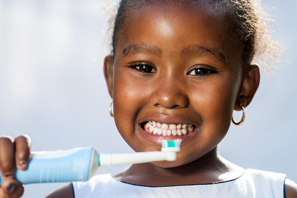 Teaching healthy dental habits